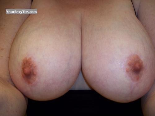 Tit Flash: My Big Tits (Selfie) - GMILF54 from United States