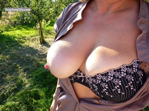 Tit Flash: Big Tits - Ex-Girl Germany - 2008 from Germany