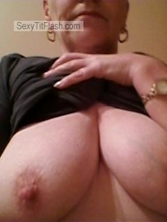 Tit Flash: My Big Tits (Selfie) - Carols Tits from United Kingdom