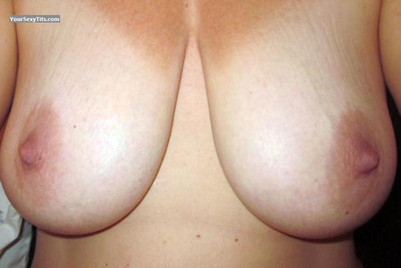 Tit Flash: My Big Tits (Selfie) - Pretty Little Milf from United States