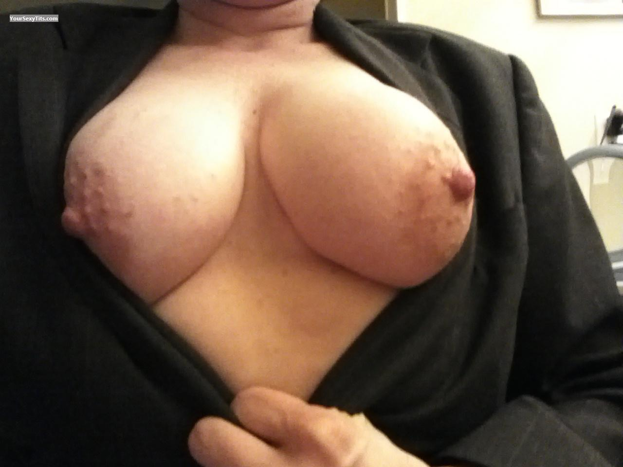 Big Tits Of My Wife Selfie by BusyBee