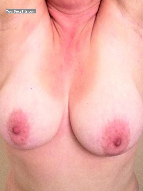 Tit Flash: Big Tits - Shelly from United States