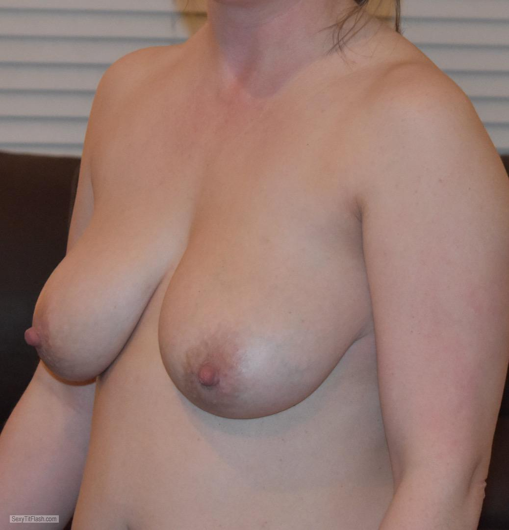 Tit Flash: My Big Tits - Showing_for_you from United Kingdom
