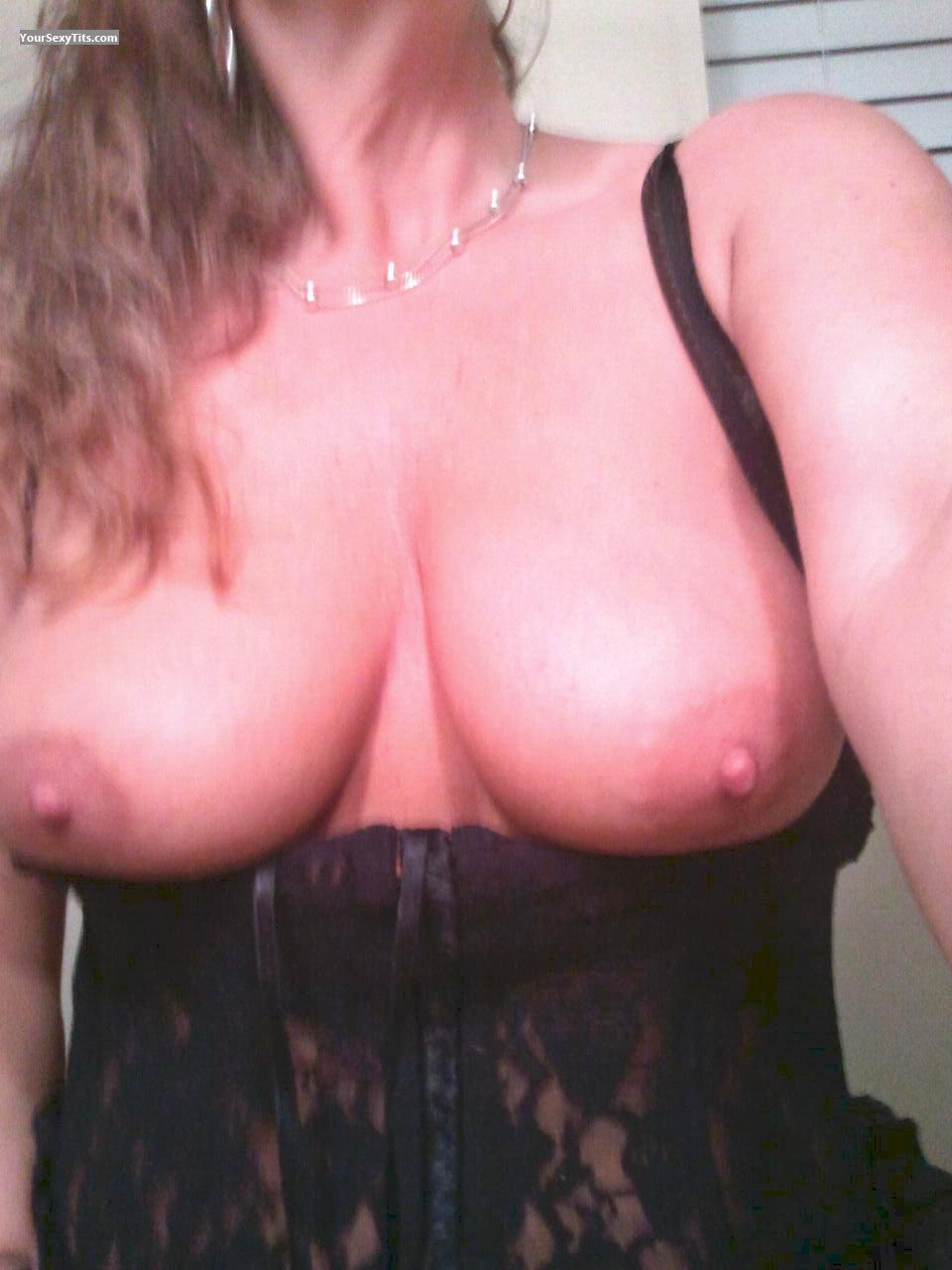 Tit Flash: My Big Tits (Selfie) - Toni from United States