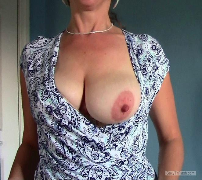 Tit Flash: My Big Tits - Boobflasher77 from United States