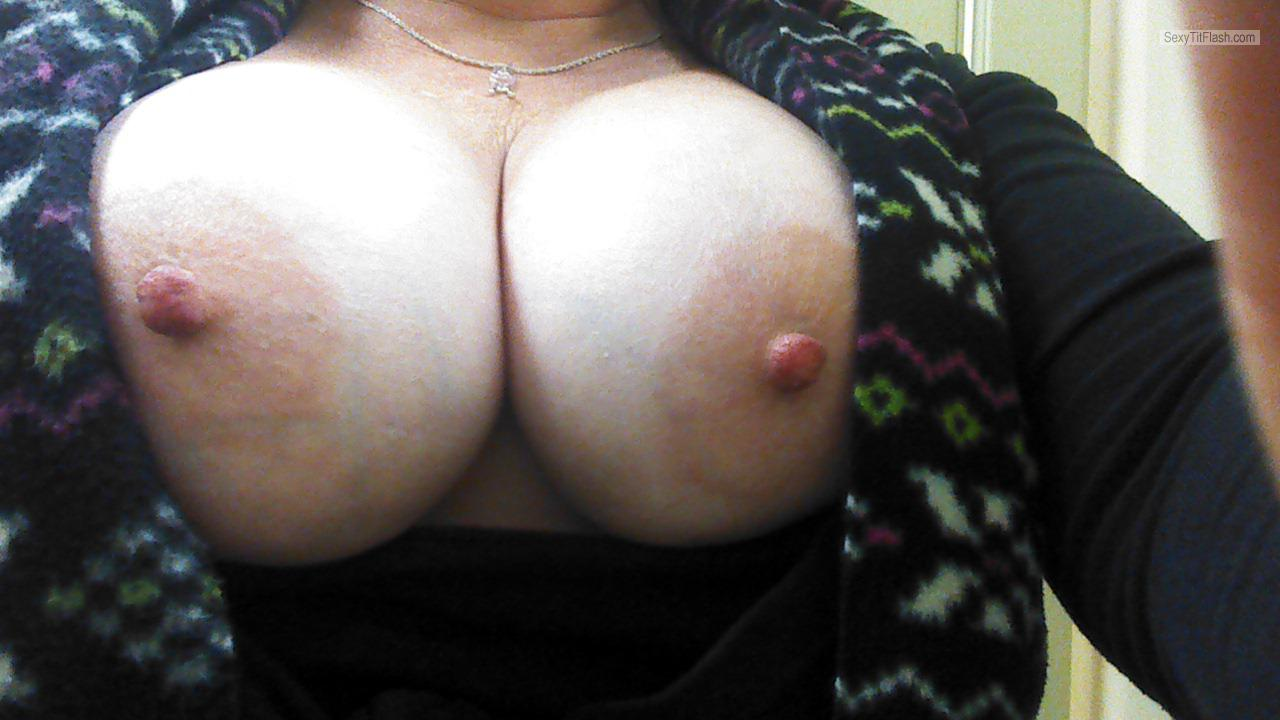Tit Flash: My Big Tits (Selfie) - Cc from United States