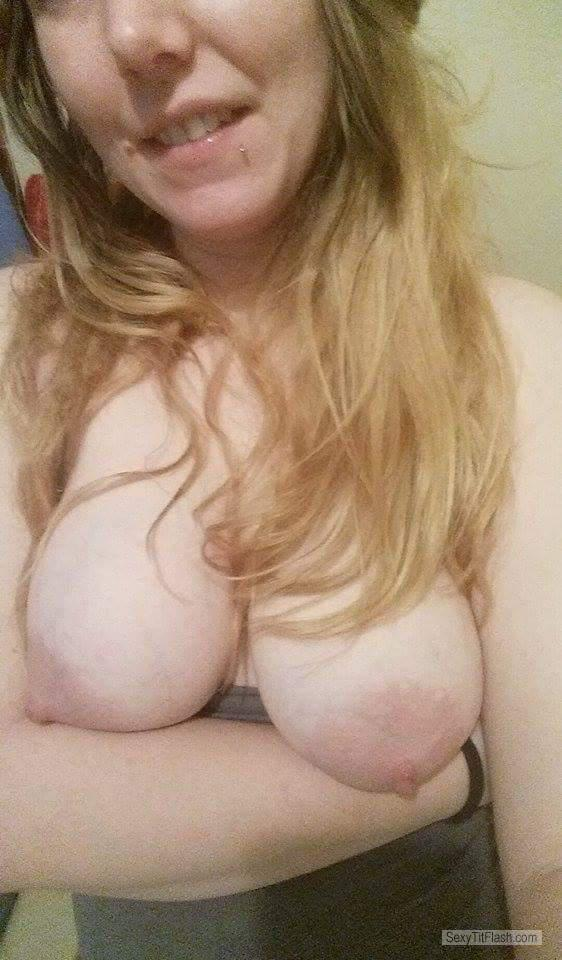 My Big Tits Topless Selfie by Horny Lo