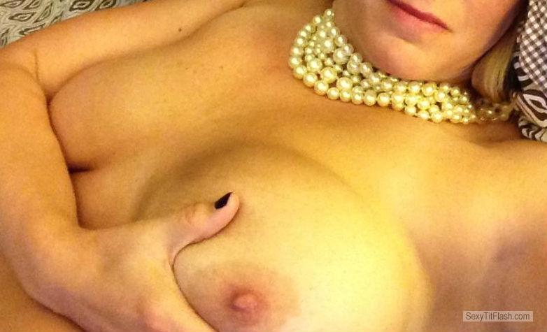 Big Tits Of A Friend Selfie by Fun Mom