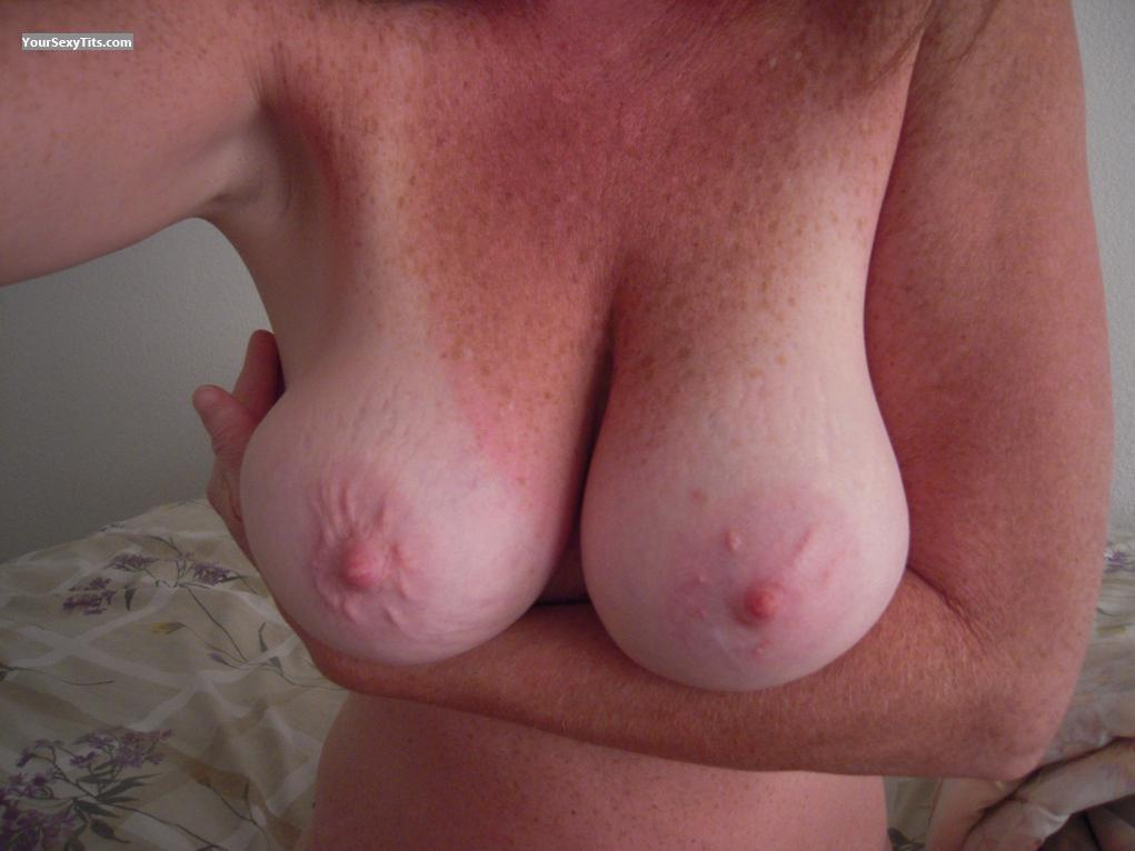 Tit Flash: My Big Tits (Selfie) - Cherri from United States