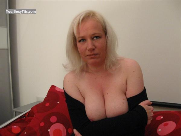 Tit Flash: Big Tits - Philomena from Belgium