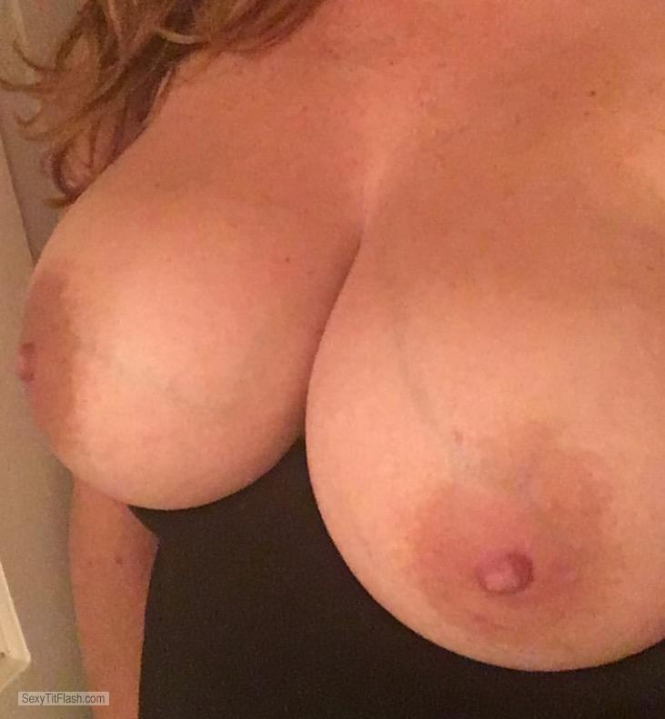 My Big Tits Topless Selfie by Justboobies