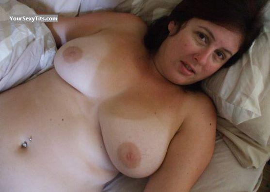 Tit Flash: Big Tits - Marie from United States