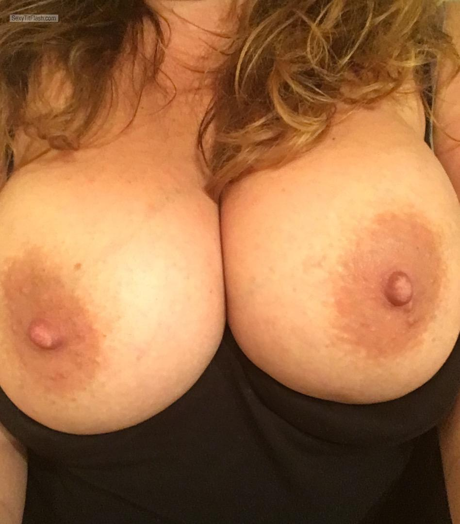 Tit Flash: My Big Tits (Selfie) - Justboobies from United Kingdom