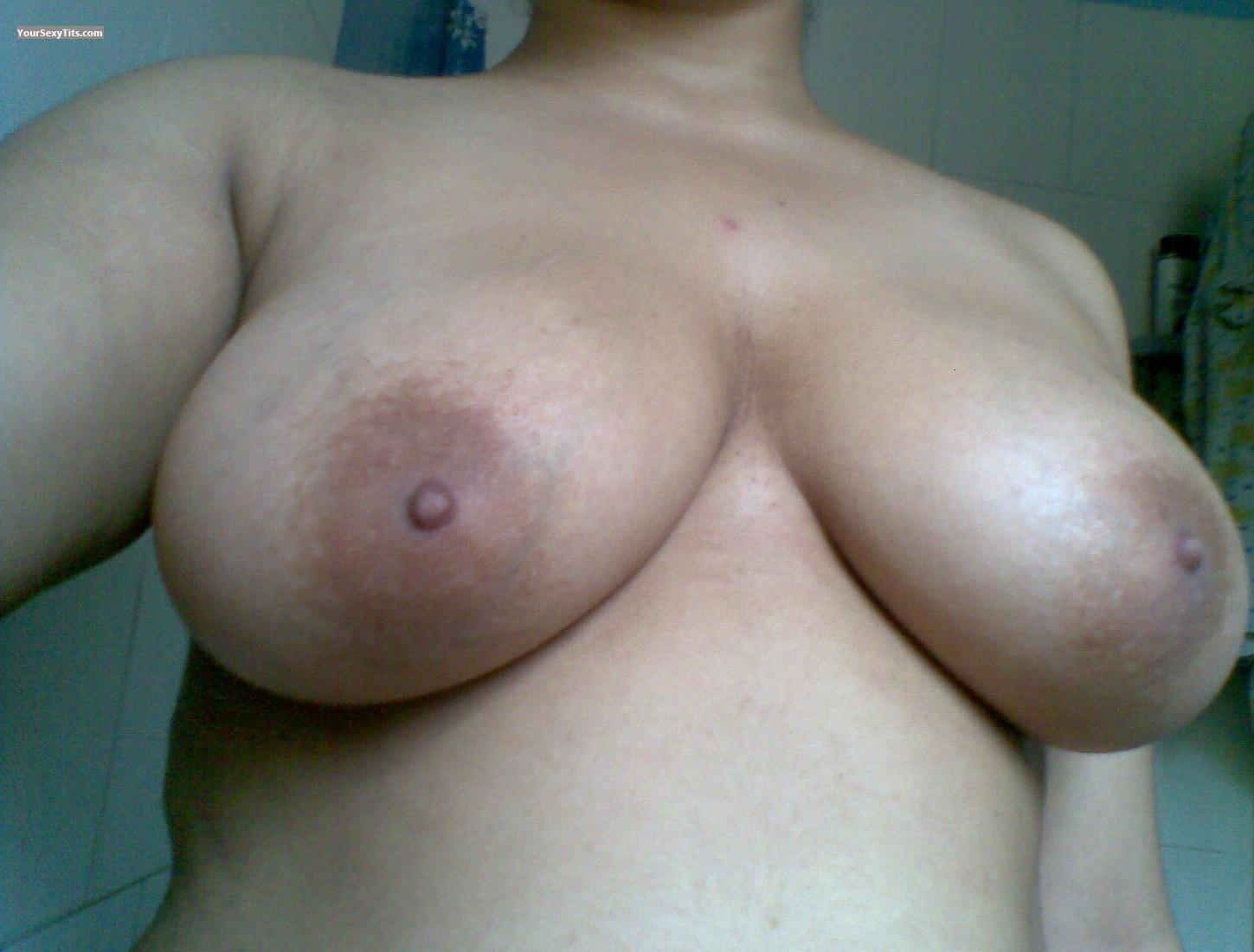 Tit Flash: Big Tits - Debby from United States