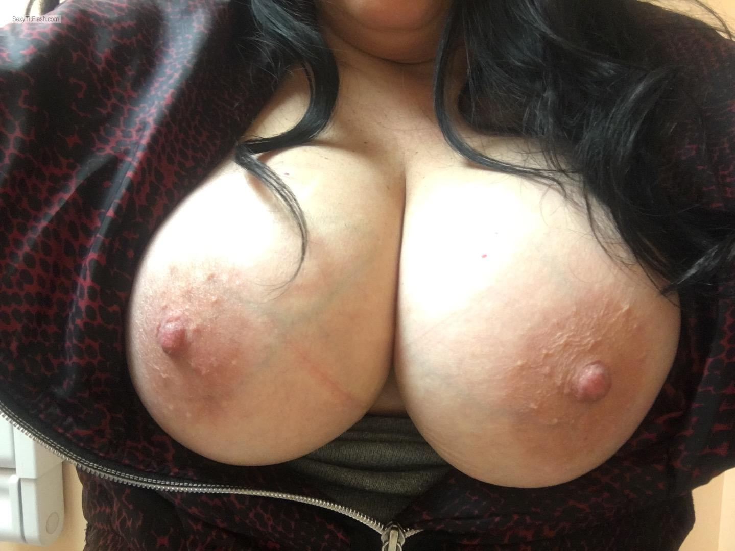 My Big Tits Topless Shannon