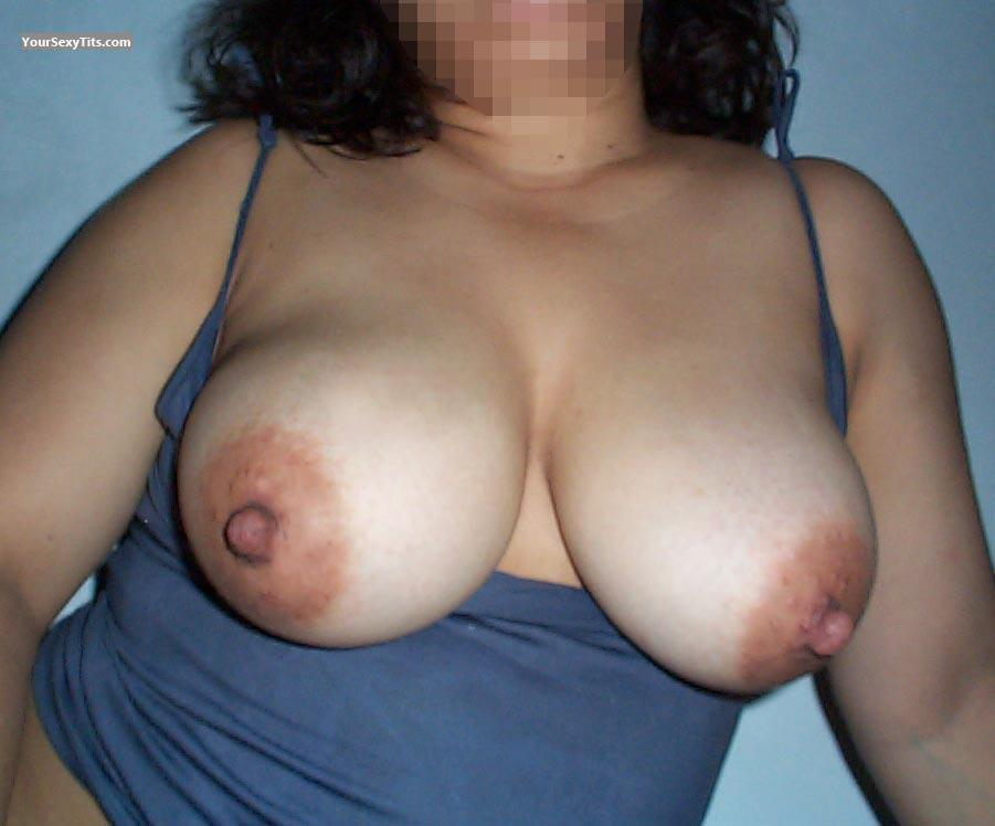 Tit Flash: Big Tits - La Mexicana from Mexico