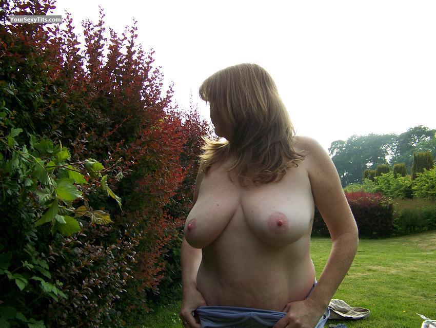 Big Tits Park Lover