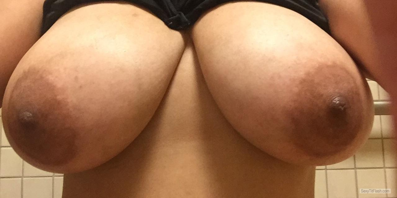 Big Tits Of My Wife Selfie by Cherry