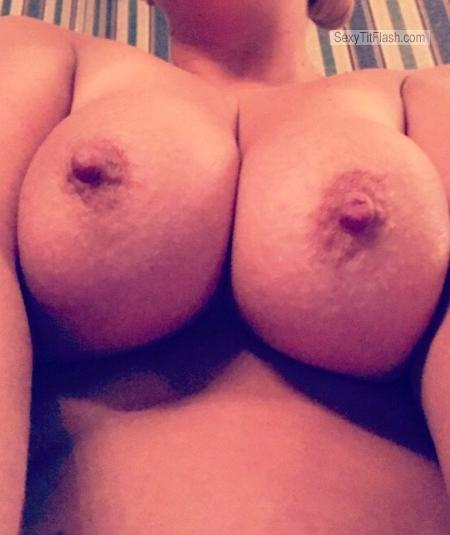 Big Tits Of My Wife Selfie by Hot Milf