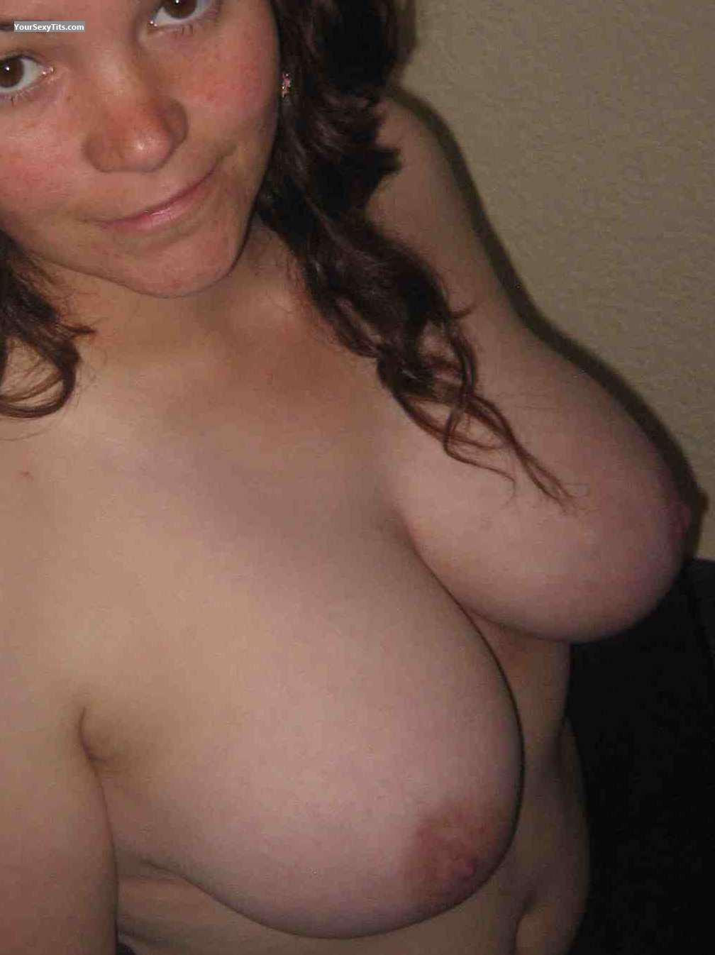 Tit Flash: My Friend's Big Tits - Yummy from Denmark