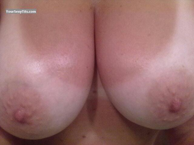 Tit Flash: My Big Tits (Selfie) - .JOB from Italy