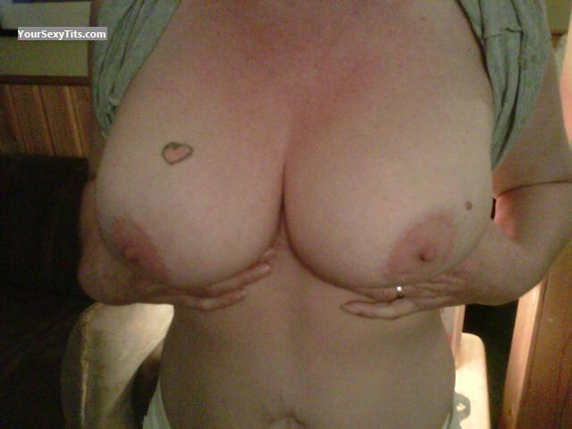 Tit Flash: Big Tits - 40ds from Canada