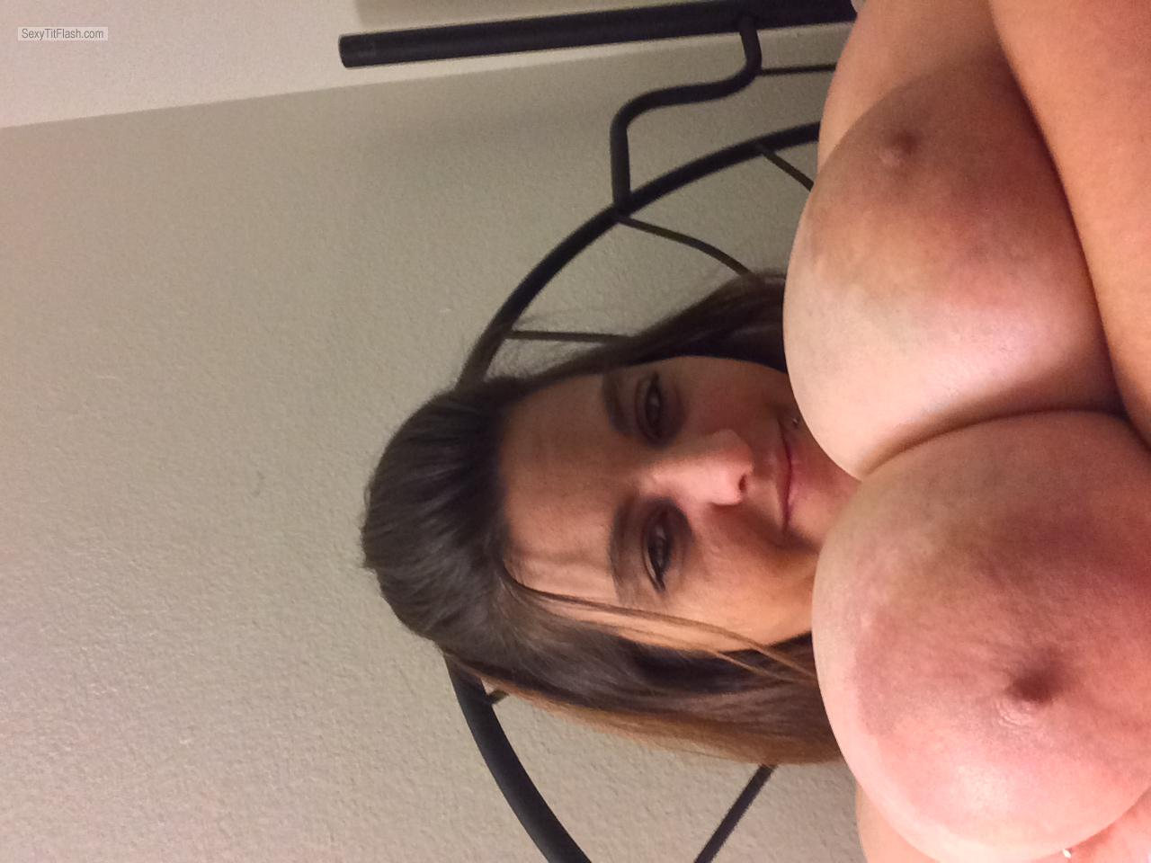 My Big Tits Topless Selfie by Lulu1507