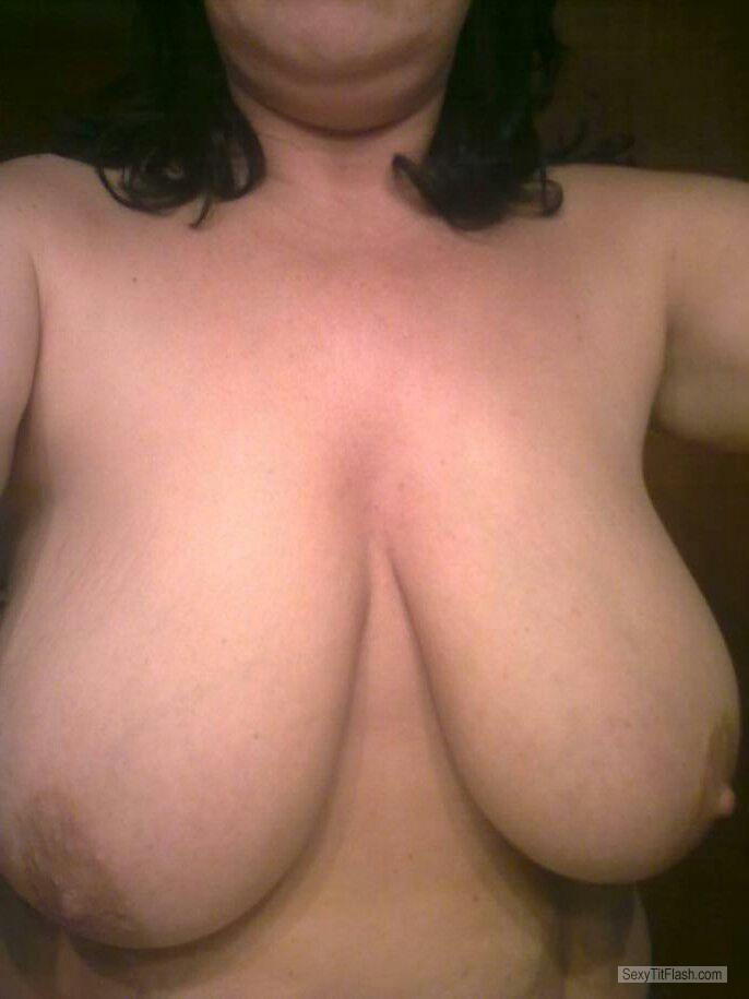Big Tits Of My Wife Selfie by Marion