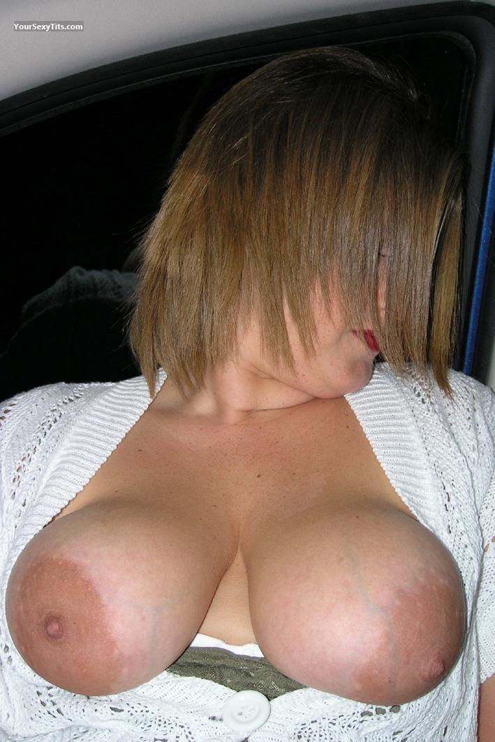 Tit Flash: Big Tits - Topless Boccadoro77 from Italy