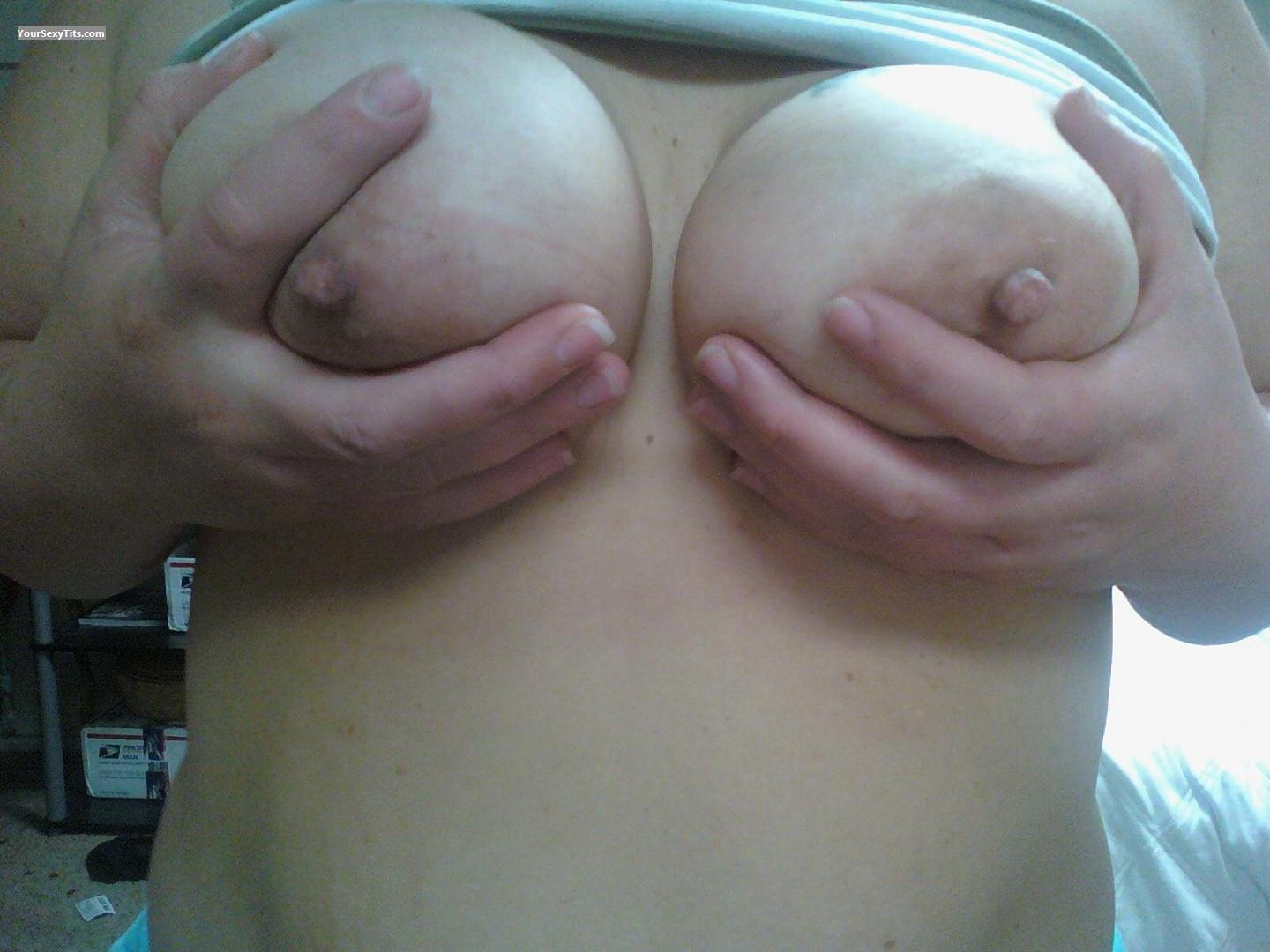Tit Flash: My Big Tits (Selfie) - Nani from United States