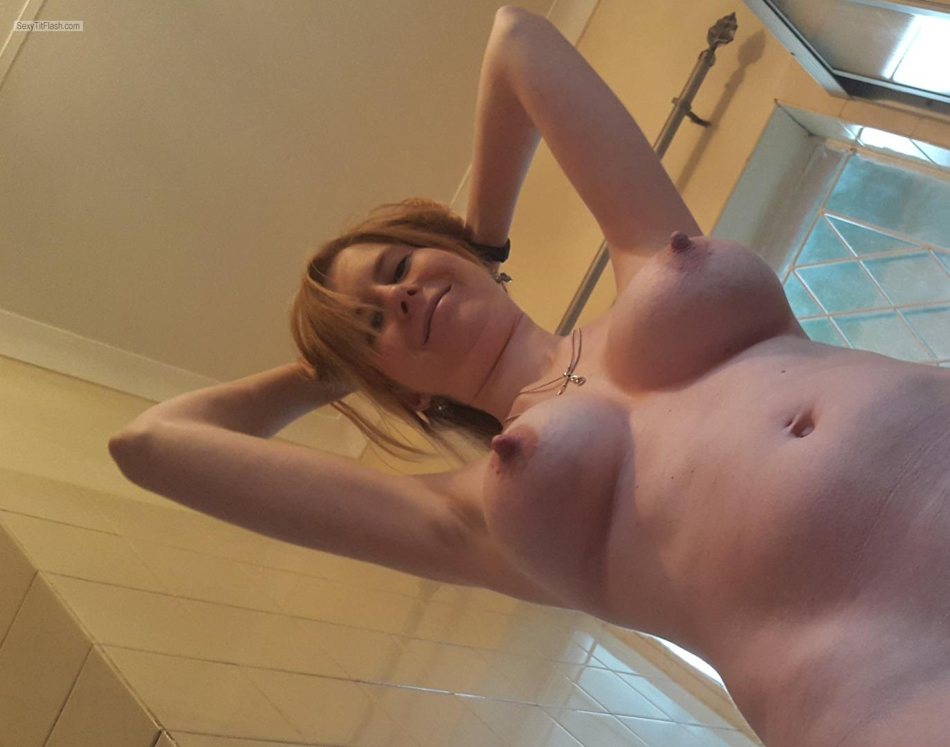 Big Tits Of My Wife Topless Honeywife
