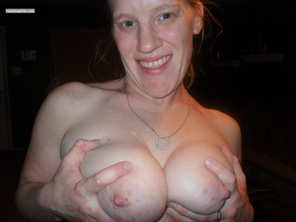 Tit Flash: Big Tits - Redness from United States