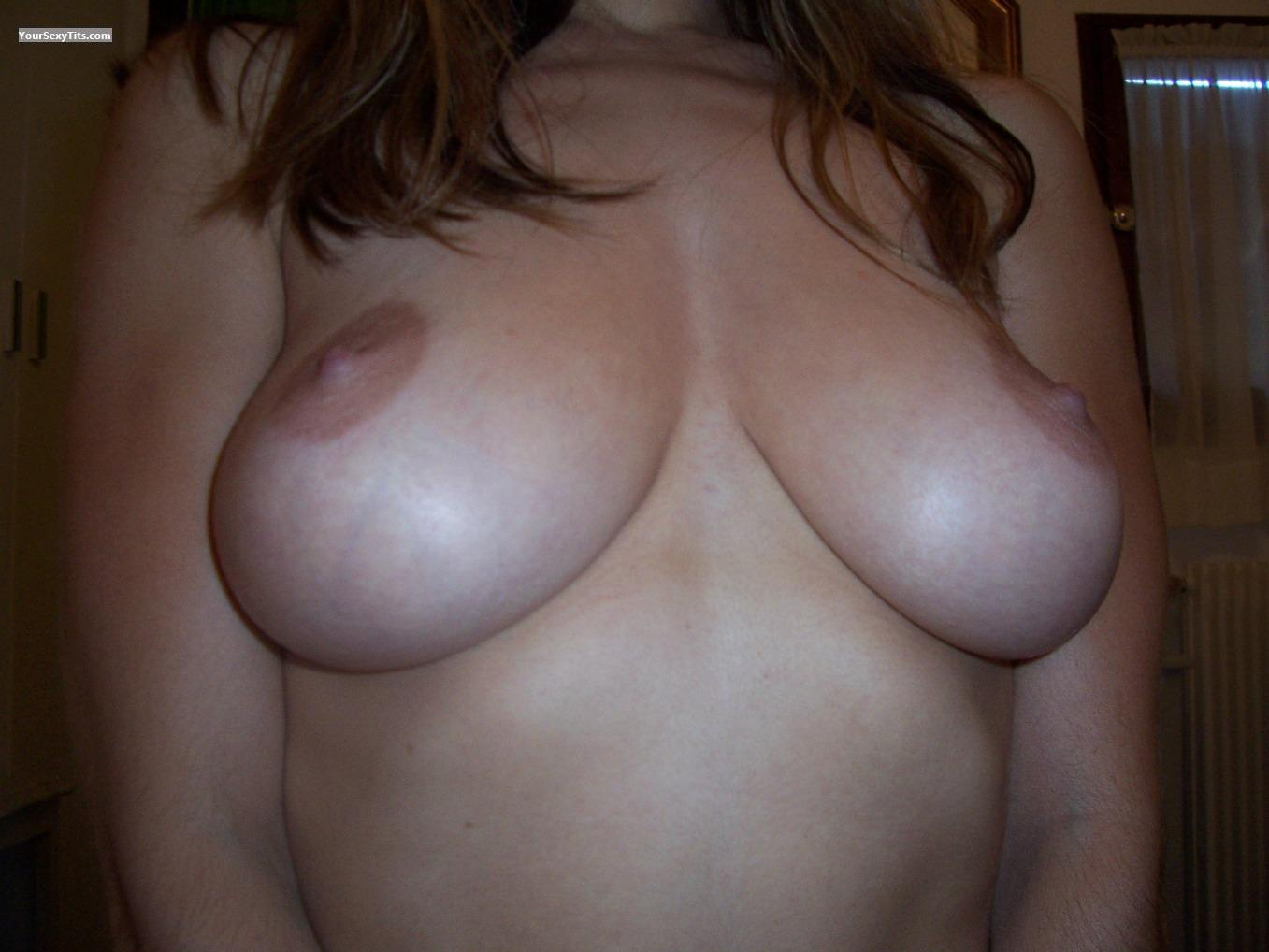 Tit Flash: Big Tits - Jeanett from Belgium