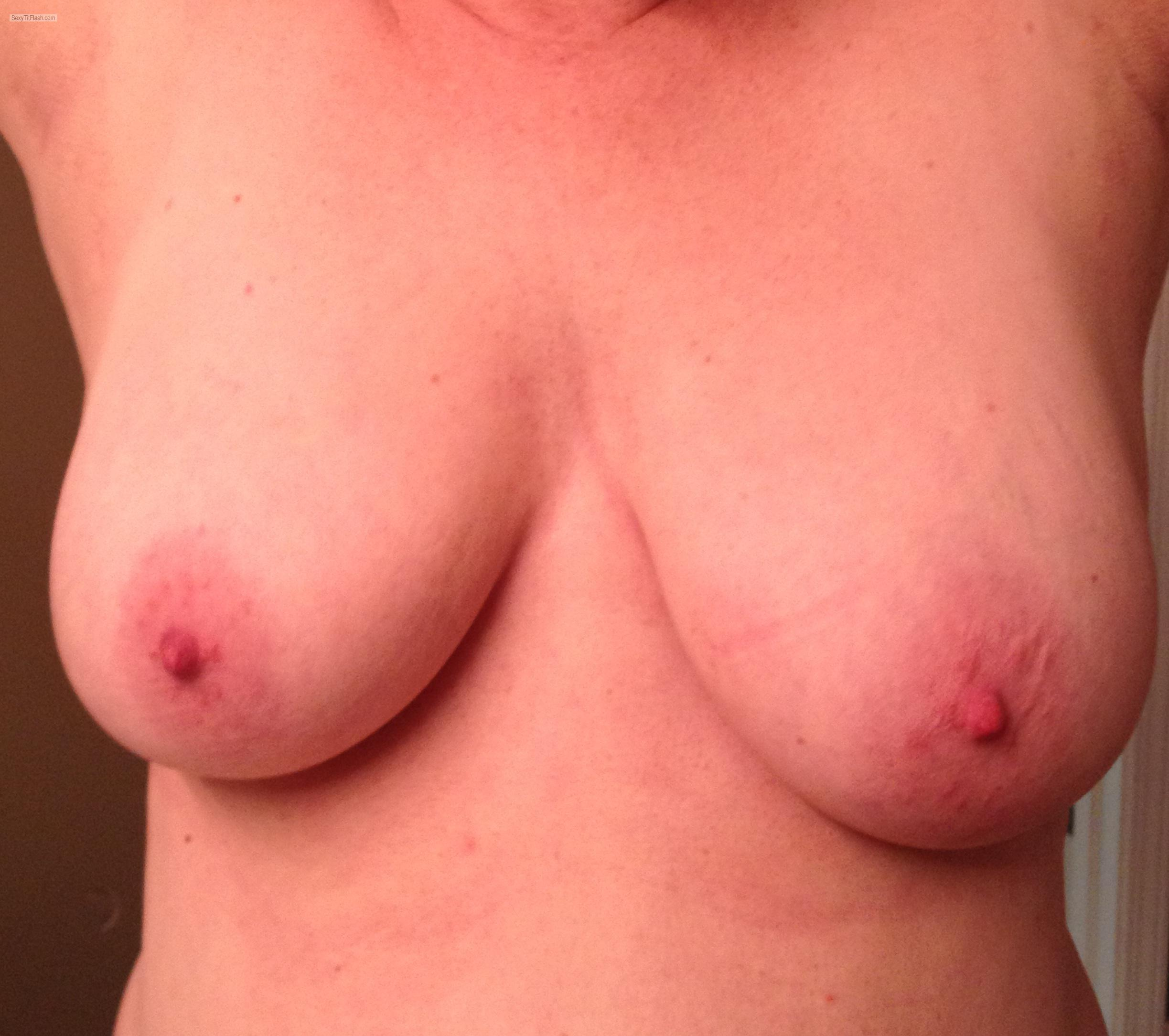 Tit Flash: Wife's Big Tits - Wifeys Tits from United States