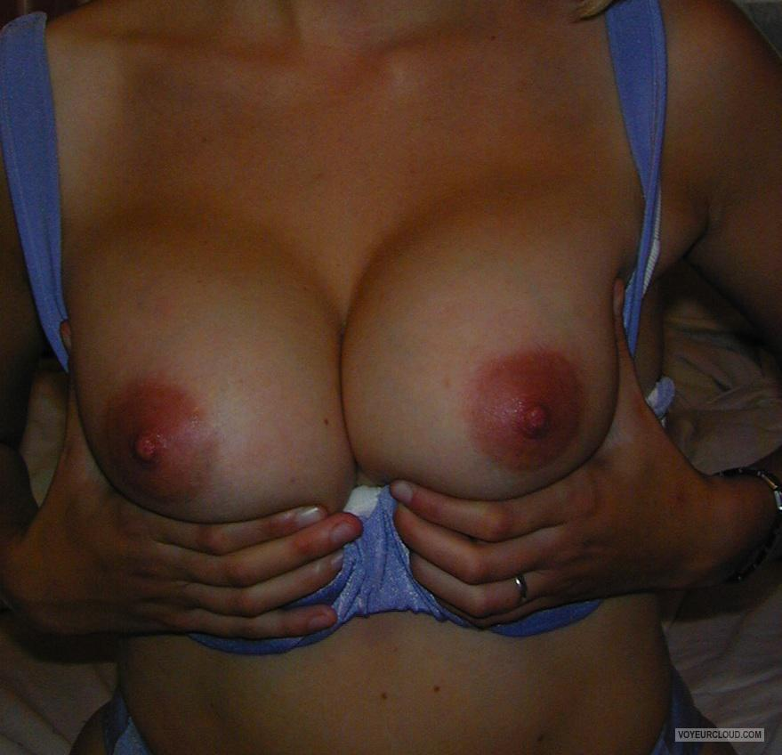 Tit Flash: Ex-Girlfriend's Medium Tits - YSB from Denmark