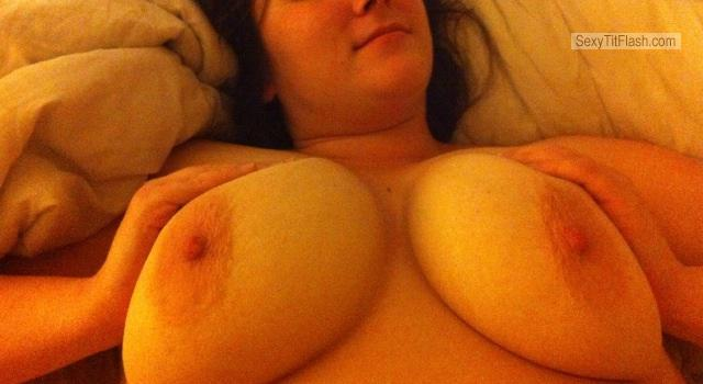 Tit Flash: Wife's Big Tits - My Wifes Big Tits from United States