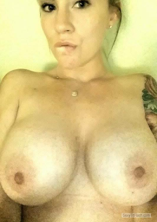My Big Tits Topless Selfie by Mrs. S