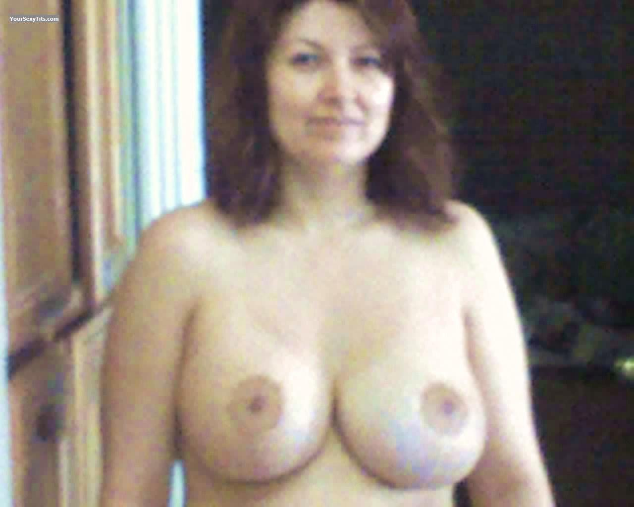 Tit Flash: Big Tits - Topless Cher from United States