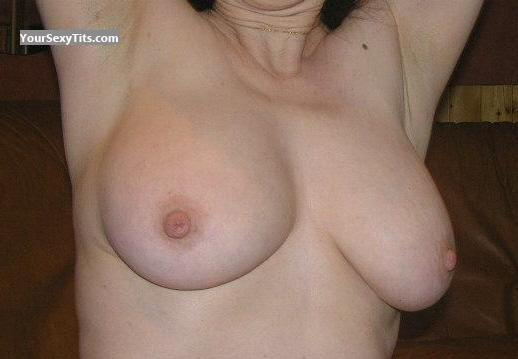 Tit Flash: Big Tits - Virginie from France