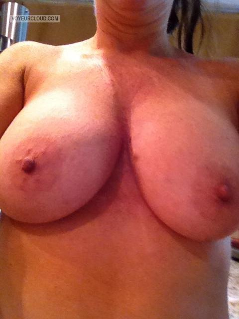 Big Tits Of My Wife Selfie by Lola