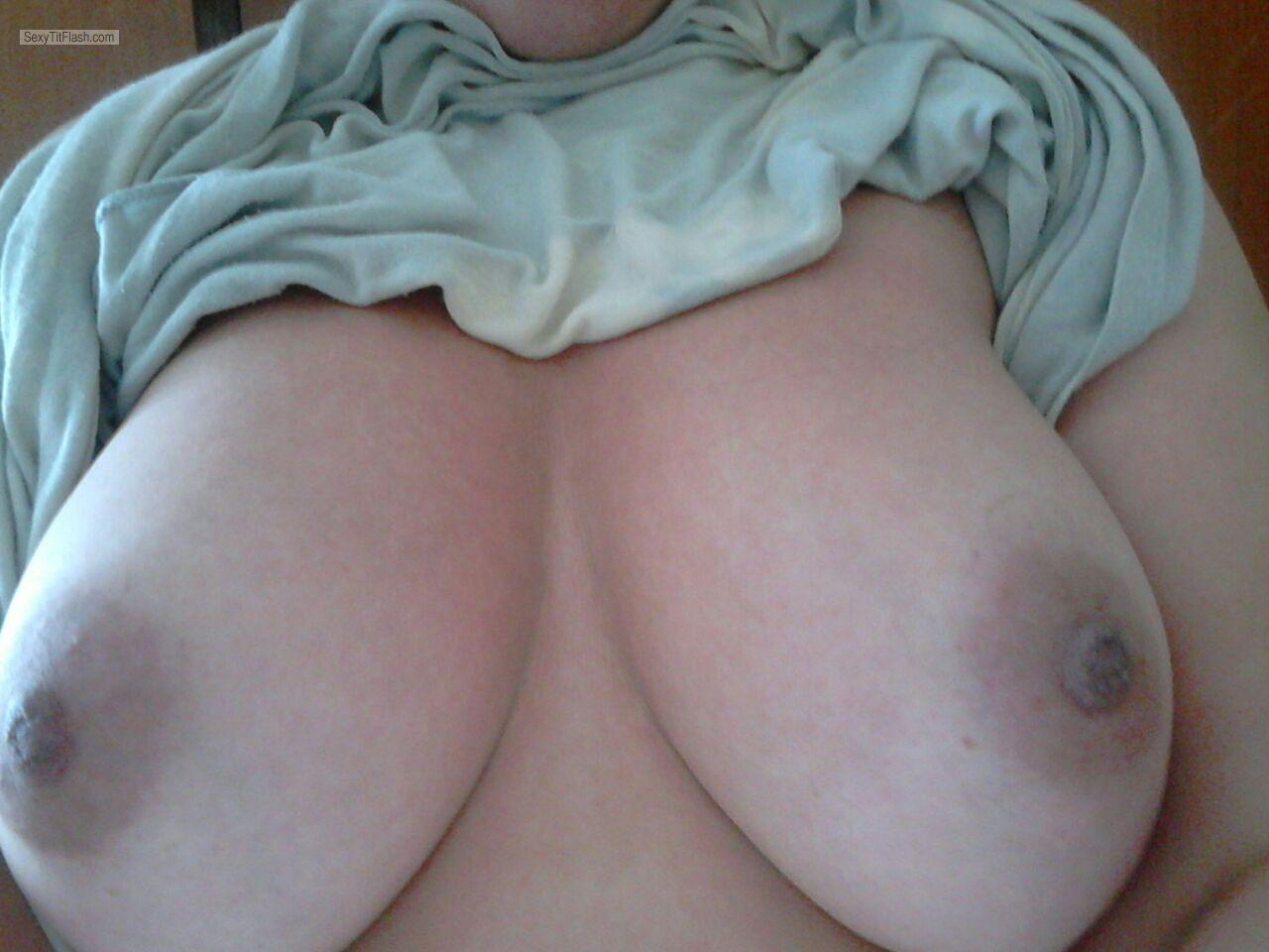 Big Tits Of A Friend Selfie by Wanna