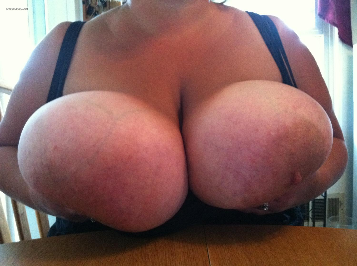 Extremely big Tits Heather