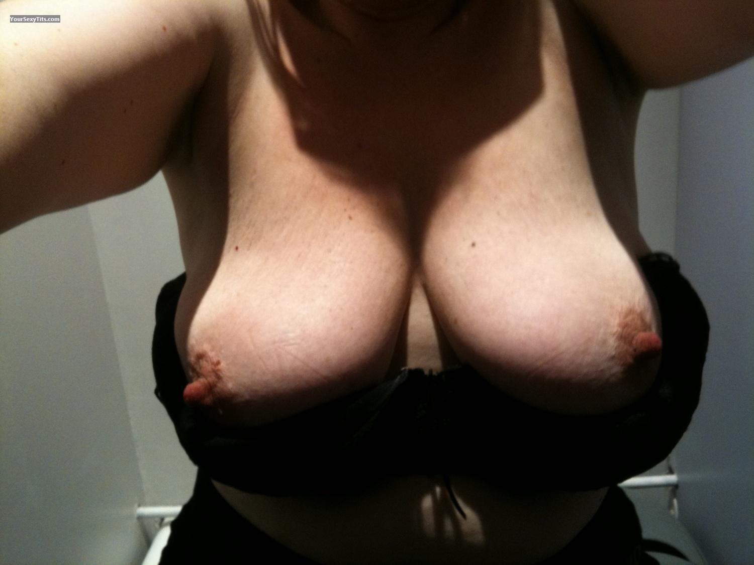 My Extremely big Tits Selfie by Bouncy Lucy