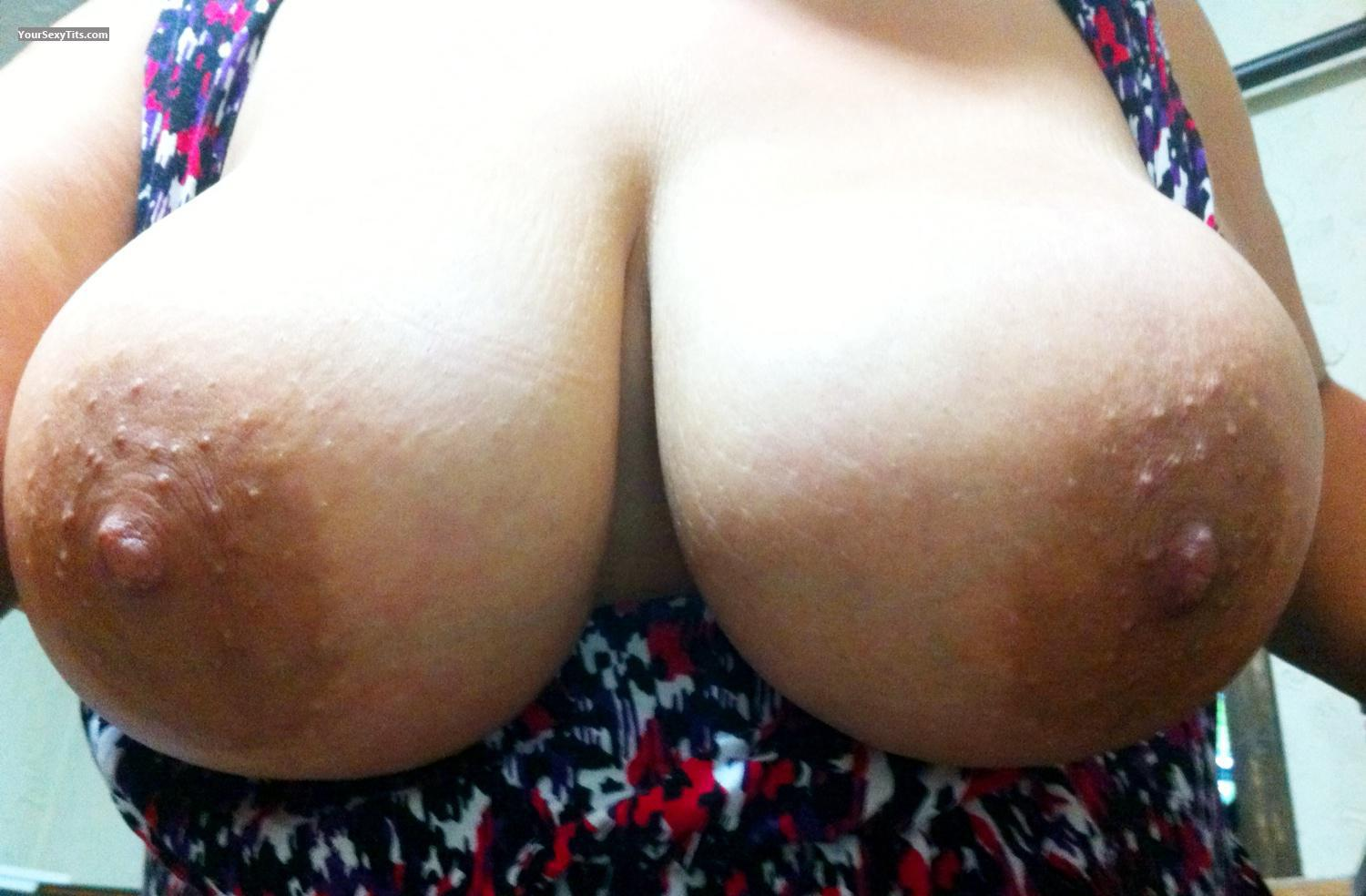 My Extremely big Tits Selfie by Lady Dee