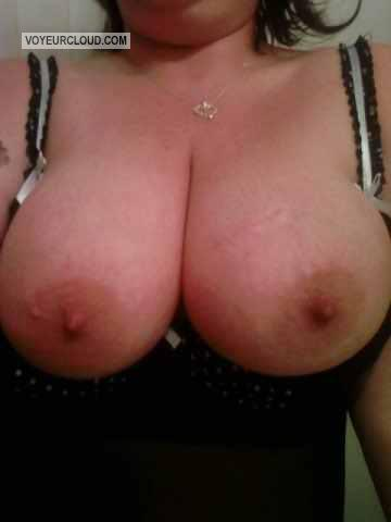 Extremely big Tits Of A Friend Selfie by Beezy