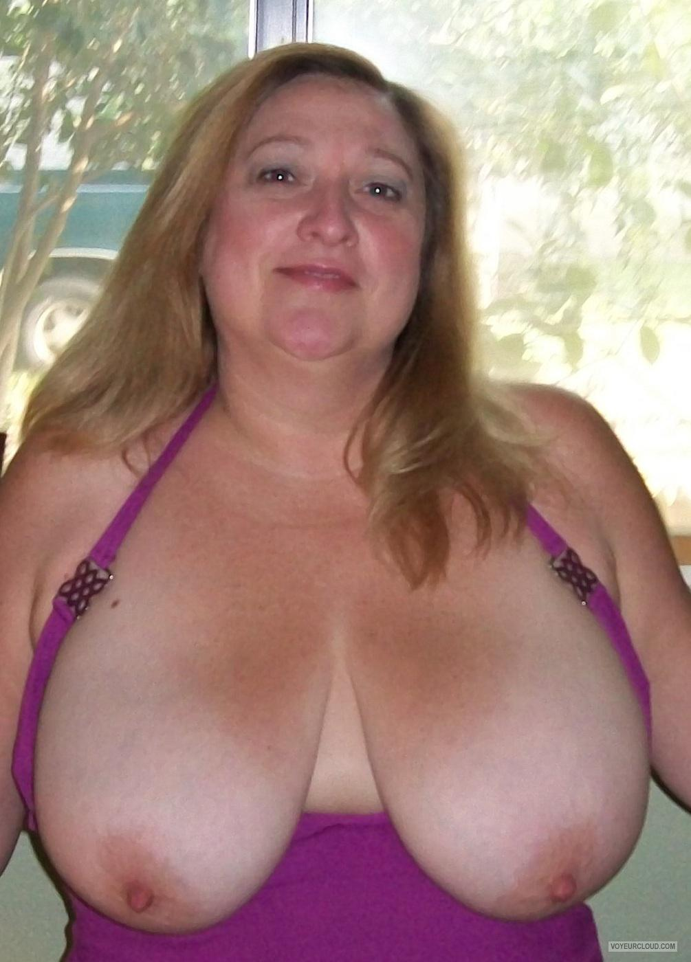 My Extremely Big Tits - Topless KTX from United States Tit Flash ...