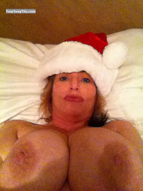 Extremely big Tits Of My Wife Topless Selfie by SV