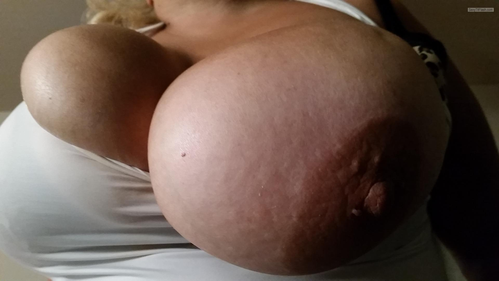My Extremely big Tits Selfie by Fantasy Girl