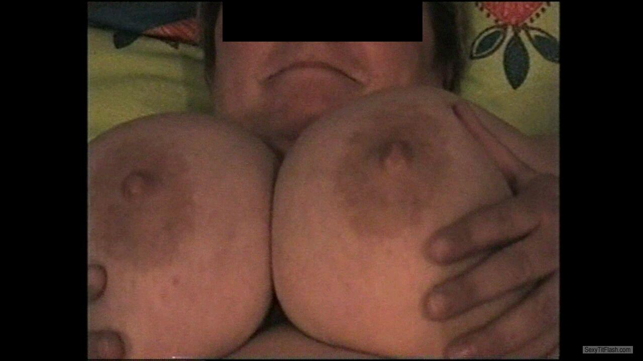 Extremely big Tits Of My Wife Jacky