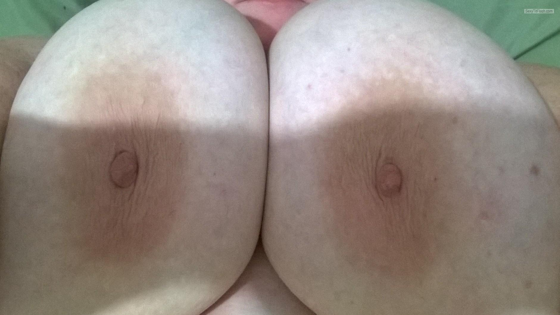 Extremely big Tits Of My Girlfriend My Gfs Big 46 Ddd